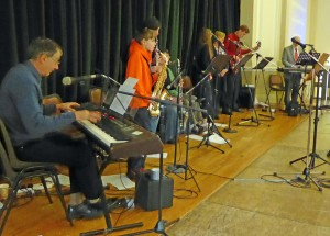 the interdenominational music group in action