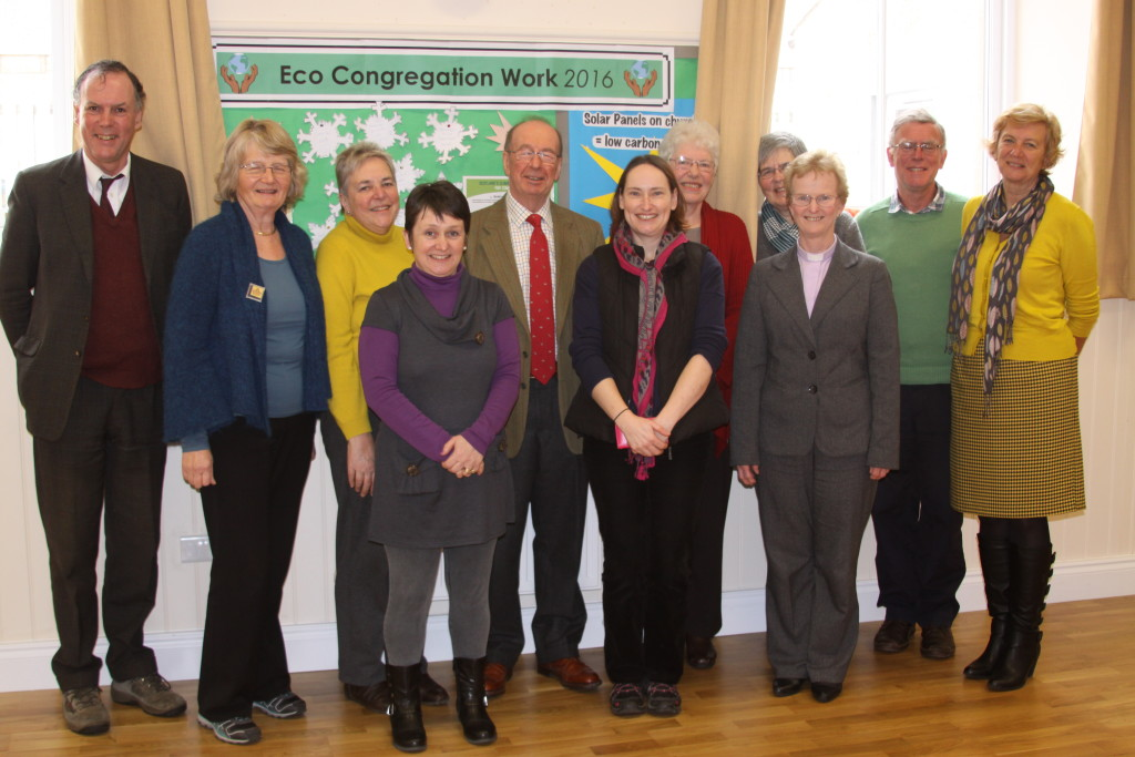 our representative group and the eco-assessors - all smiling!