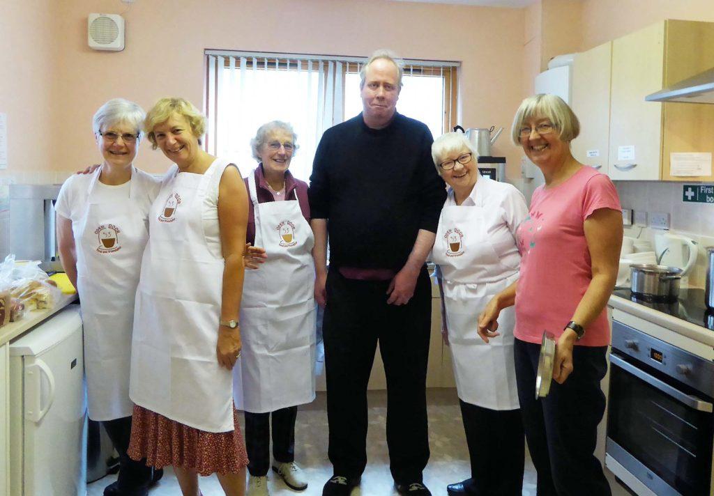the kitchen team