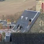 preparing the roof